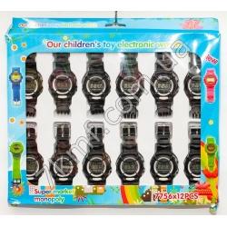 Електронные часы 7756 ( 12 шт. в уп.)