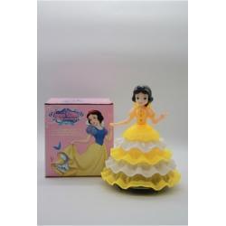 Игрушка Танцующая принцесса с музыка 4вида (21*16) см (72) №398