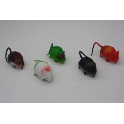 Игрушка №JL9305 резиновая Мышь 20шт в упак. (600)