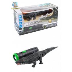 Робот-крокодил 9985 ходит, звук, подсветка, пульт управления