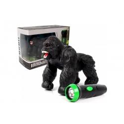 Радиоуправляемая RC горилла чёрная