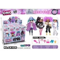 Игрушка №LK1026 кукла ОМО сюрприз 2-го поколения 4цв (216)