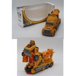 Игрушка №АК-919А Машинка трансформер светящаяся музыкальная (11*24,5*8,5) см (120)