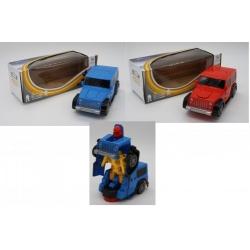 Игрушка №АК-829А Джип трансформер (8*21*8,5) см (168)