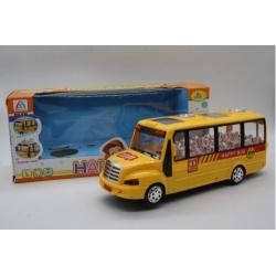Игрушка №636 Школьный автобус светящийся музыкальный (13*31,5*10,5) см (36)