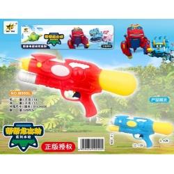 Игрушка №M999L водяной пистолет с насосом 2цвета в клеёнке (32,1*14,3*6,4)см (120)
