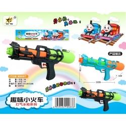 Игрушка №M908T водяной пистолет с насосом 1цвета в клеёнке (38*17*7,5)см (120)
