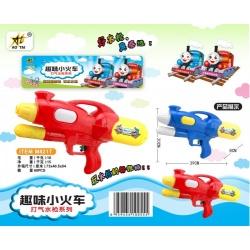Игрушка №M821T водяной пистолет с насосом 2цвета в клеёнке (39*20*8) см (60)
