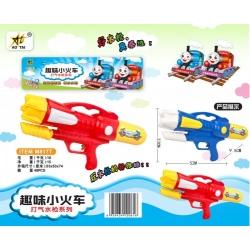 Игрушка №M817T водяной пистолет с насосом 2цвета в клеёнке (52*23*9,5)см (48)