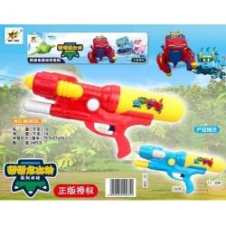Игрушка №M363L водяной пистолет с насосом 2цвета в клеёнке (56*25,3*12,3)см (24)