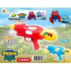 Игрушка №M353L водяной пистолет с насосом 2цвета в клеёнке (33*1*17,3*7,6)см (72)
