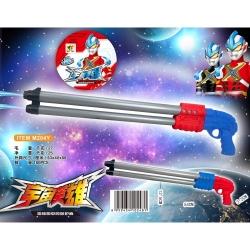 Игрушка №M204Y водяной пистолет с насосом 2цвета в сетке (54*12,5*3,2)см (180)