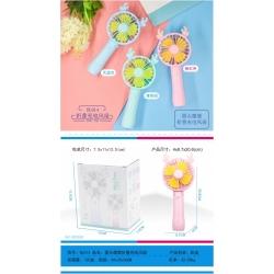 Детский вентилятор №HL014 с аккумулятором 3цв (20,6*8,7)см (120)