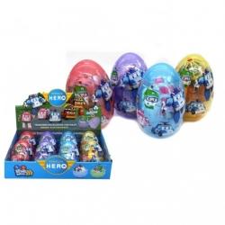 """Игрушка №83168-19 Робот трансформер """"Robocar Poli"""" в яйце копилке (14*9) см (144/8)"""