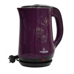 Електричний чайник Crownberg CB 2842 Фіолетовий (есть 3 цвета)