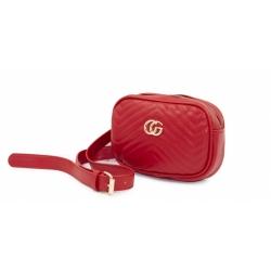 Женская поясная сумка-бананка Gucci FM-117