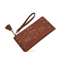 Женский кошелёк-клатч Boershi fashion (1018)