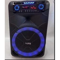 Аккумуляторная акустика с микрофоном ZPX ZX 7772 15*
