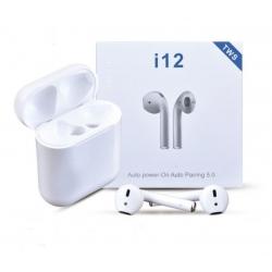 беспроводные сенсорные в кейсе earphone i12