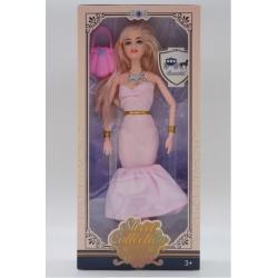 """Игрушка №DX520D-1 Кукла """"FASHION GIRL"""" с длинными волосами аксессуарами 3 вида (32*15 )см (120)"""