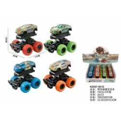 Игрушка №KZ957-501D спортивный внедорожник 4цв (10*10)см (192/12)