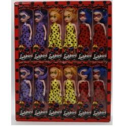 """Игрушка №ВК-994 """"Ladybird"""" Кукла божья коровка (6.8*4.4*6) уп.24шт 3цв. (1152/24)"""