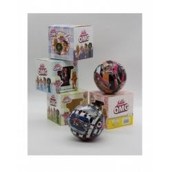 "Игрушка №21143 кукла ""LOL"" OMG Fashion girl шарик с аксессуарами в кор.(9.5см) в уп 1шт 4цв (288)"