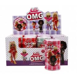 "Игрушка №21142 кукла ""LOL"" OMG Fashion girl с аксессуарами (16.5*8.5)см в уп.12шт 4цв (192/12)"