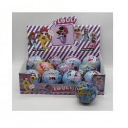 """Игрушка №21128 кукла """"L.O.U.L.i."""" Русалка шарик сюрприз (10см) в уп.12шт (288/12)"""