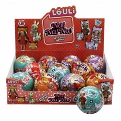 """Игрушка №21122 кукла """"L.O.U.L.i."""" шарик сюрприз Na!Na!Na! (10см) в уп.12шт (192/12)"""