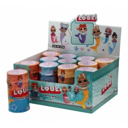 """Игрушка №21107 Кукла """"L.O.U.L.i."""" красивая русалка с асессуарами (16.5*9)см в уп.12шт (192/12)"""