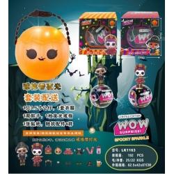 """Игрушка №LK1163 кукла """"WOW"""" шарик сюрприз (10см) в уп.1шт 2цв (192)"""