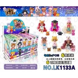 """Игрушка №LK1133А кукла """"Pet Dolls"""" сюрприз 2-го поколения (22,5*5*7,2)см в уп.24шт 6цв (288/24)"""