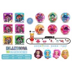 """Игрушка №LK1090А кукла """"Pet Dolls"""" шарик сюрприз 6цв (10*10)см в уп.1шт (192)"""