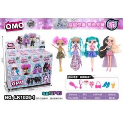 """Игрушка №LK1026-1 кукла """"OMO Winter disco"""" сюрприз 2-го поколения (26*8.5*5)см в уп.12шт 4цв (216)"""