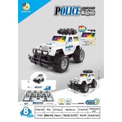 """Игрушка №7722 """"POLICE Wagon"""" музыкальный светящаяся (8*13.8*8)см в упаковке 8шт (192/8)"""