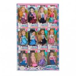 Игрушка №266А Кукла с длинными волосами и аксессуарами (15,5*6,5*4) уп. 12шт (576/12)