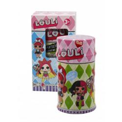 """Игрушка №XQ3187 Кукла """"L.O.U.L.I."""" в кор. с аксессуарами (17*10*9.5)см в уп.1шт (192)"""