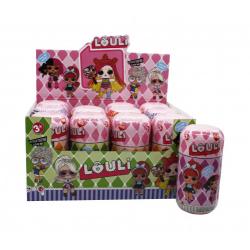 """Игрушка №XQ3195 Кукла """"L.O.U.L.I."""" Fashion Doll с аксессуарами (17*9)см в уп.12шт (192/12)"""