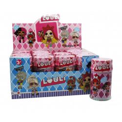 """Игрушка №XQ3191 Кукла """"L.O.U.L.I."""" Fashion Doll с аксессуарами (17.2*10)см в уп.12шт (192/12)"""