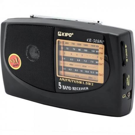 Р307 Радиоприемник Black KB-308AC