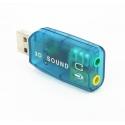 Р368 USB звуковая карта 3D Sound 5.1