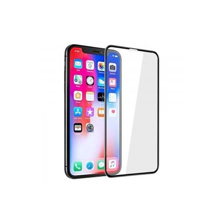 Р424 Стекло защитное (в пластиковом кейсе) iPhone 7G+/8G+ Black/White