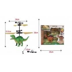 Игрушка №РС-520 Динозавр летающ. 2вида сенсор. LED подсвет. USB зарядка с пультом (23*16*4,5) (120)