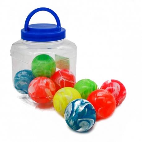 1R Игрушка №ZY9882 мяч попрыгунчик 6см 10шт в упак. (240)