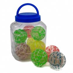 R2 Игрушка №ZY9883 мяч попрыгунчик 6см 10шт в упак. (240)