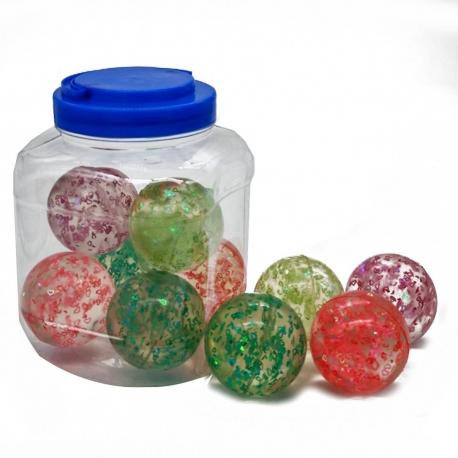 R3 Игрушка №ZY9881 мяч попрыгунчик 6см 10шт в упак. (240)