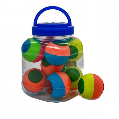 R4 Игрушка №ZY9884 мяч попрыгунчик 6см 10шт в упак. (240)