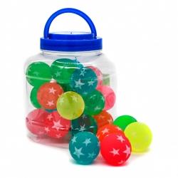 R9 Игрушка №ZY9872 мяч попрыгунчик 4,5см 26шт в упак. (624)