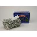 E11 Гирлянда №NC127-100-MIX прозр. 5шнур. 8функ. 100LED лампы цветные 8м 220v (100)